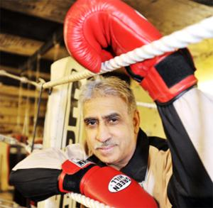 RING MASTER Yaqoob Hussain was awarded an MBE for his work