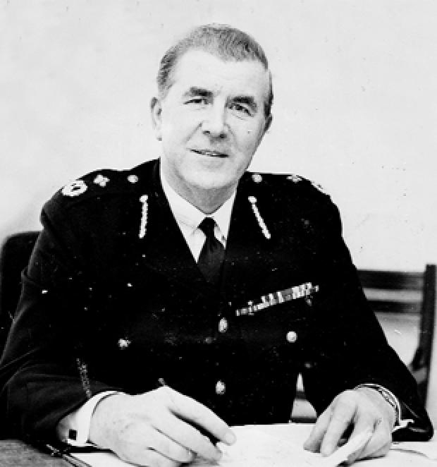 DISGRACED Chief Constable Stanley Parr