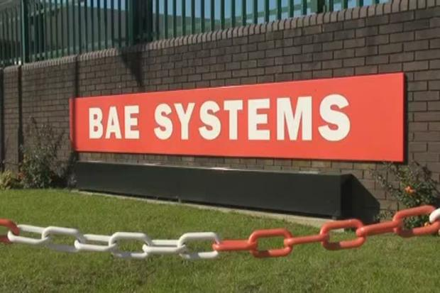 BAE defence workers help keep RAF fighter jet flying high