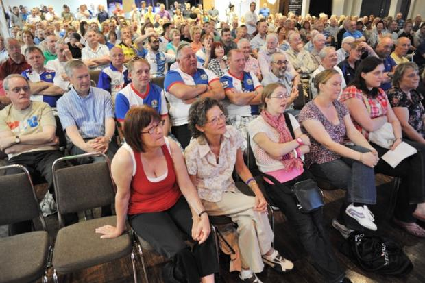 Packed first public meeting of new Blackburn Rover's trust group