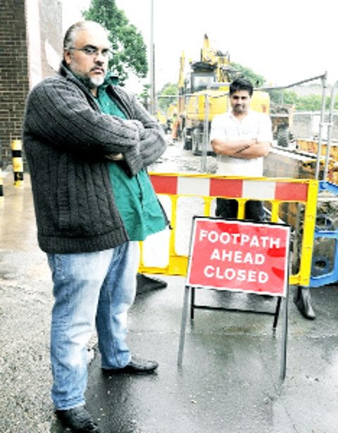 Police towed away Blackburn man's vehicle to make way for roadworks
