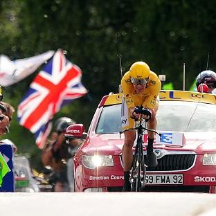 Bradley Wiggins of Sky Pro Cycling has become the first Briton to win the Tour d