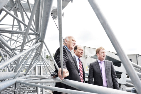 Darwen firms show off skills to Vince Cable