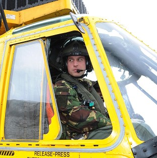 The Duke of Cambridge captained an RAF search and rescue helicopter which was used to rescue a 16-year-old girl