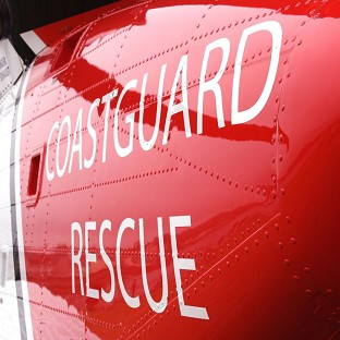 A major search is under way after a four-year-old boy entered the water at Burnham-on-Sea