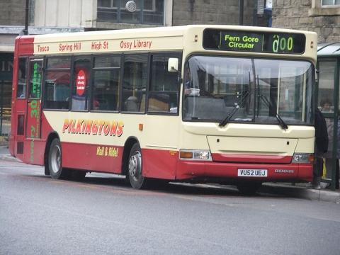 FILLING IN GAP Pilkington Buses
