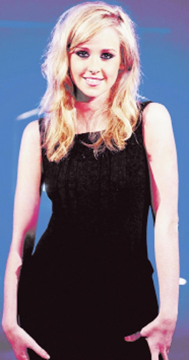 Blackburn Citizen: ON THE CREST OF A WAVE Diana Vickers