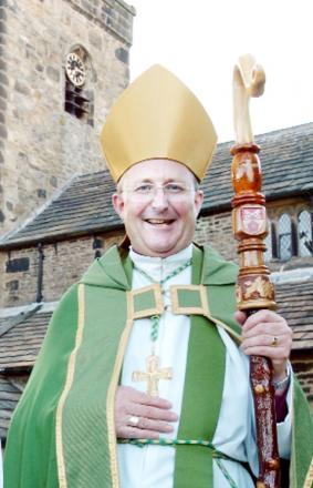 RETIRING The Rt Rev Nicholas Reade