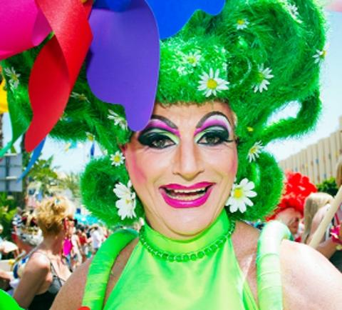 DAY OF COLOUR A gay pride event similar to one that could be held in Blackburn
