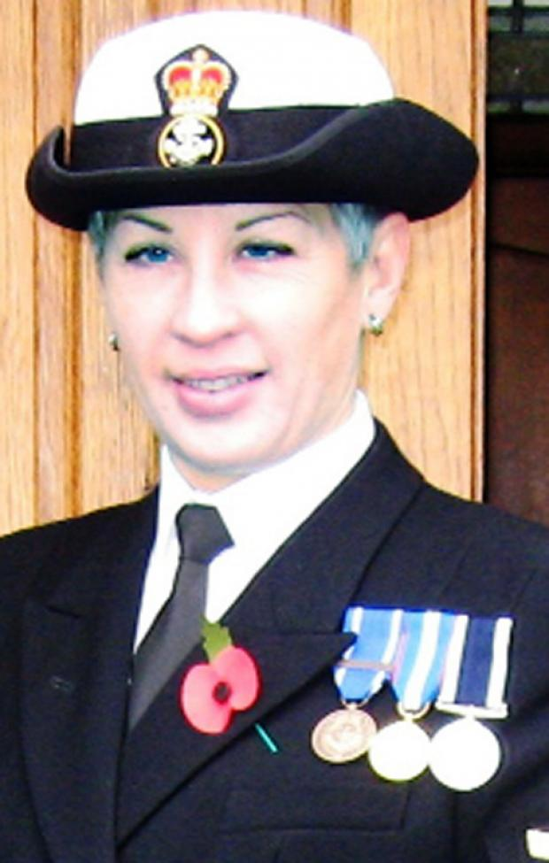 Chief Petty Officer Michelle Hewitt