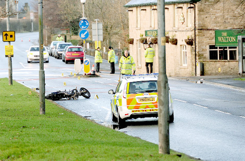 Ex-soldier, 26, killed after hitting road sign in Altham