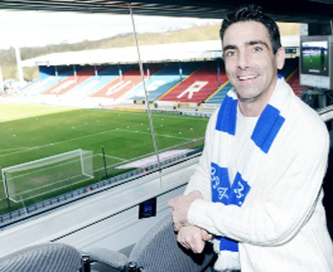Donnie Wilson at Ewood Park