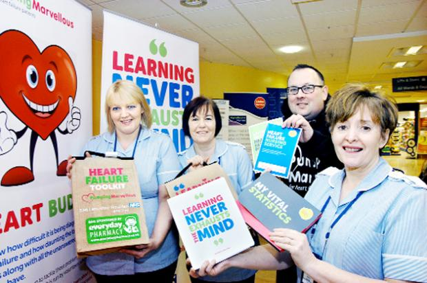 Toolkit for heart patients launched at Blackburn Hospital
