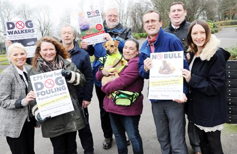 Roe Lee residents aim to wipe out dog fouling