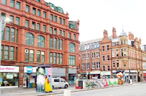 The Northern Quarter in Manchester