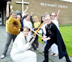Darwen church hosts Star Wars service