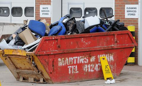 Skips provided for Blackburn and Darwen residents