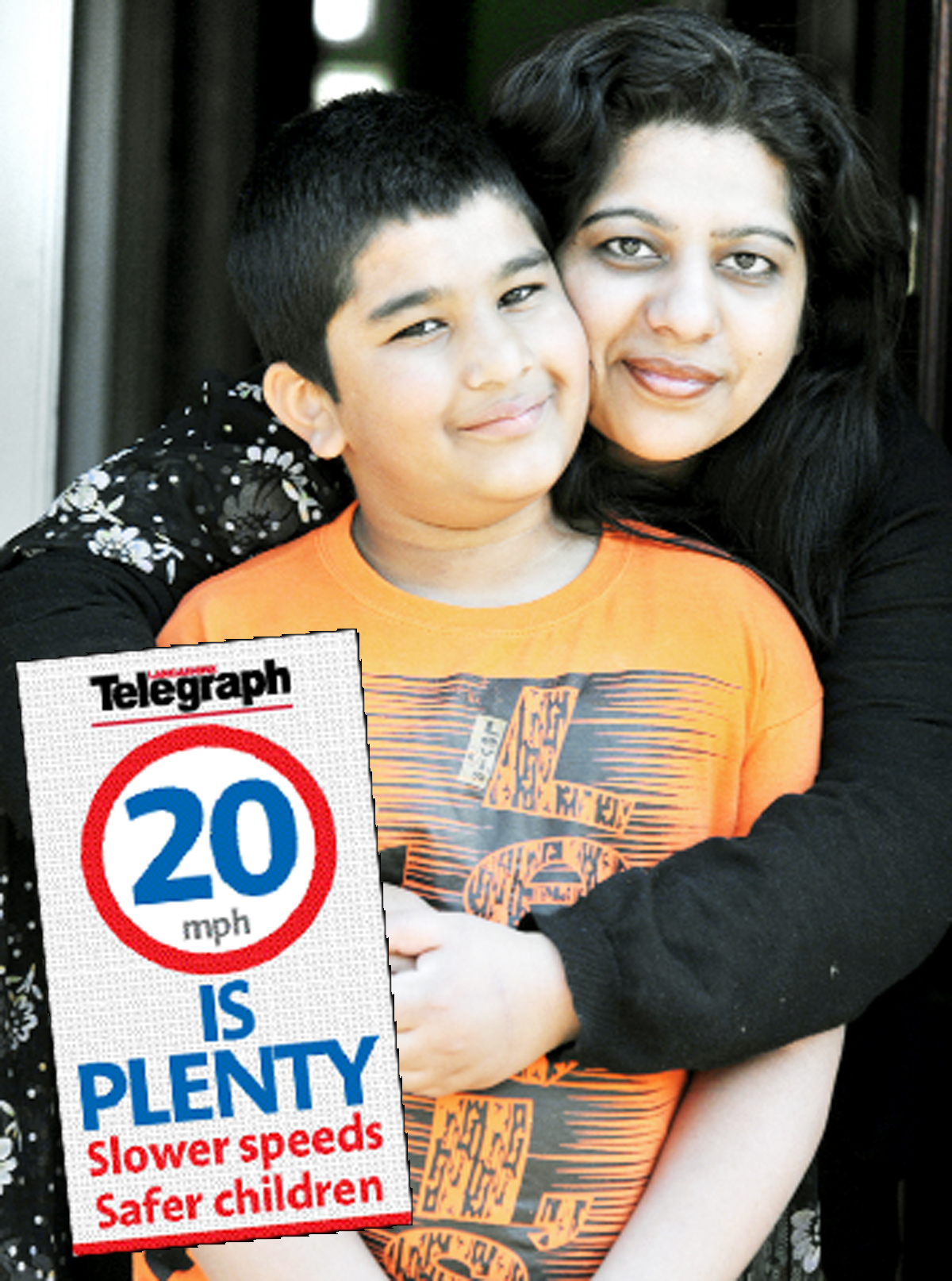 Victims of road collisions back the Lancashire Telegraph's '20 is Plenty' campaign