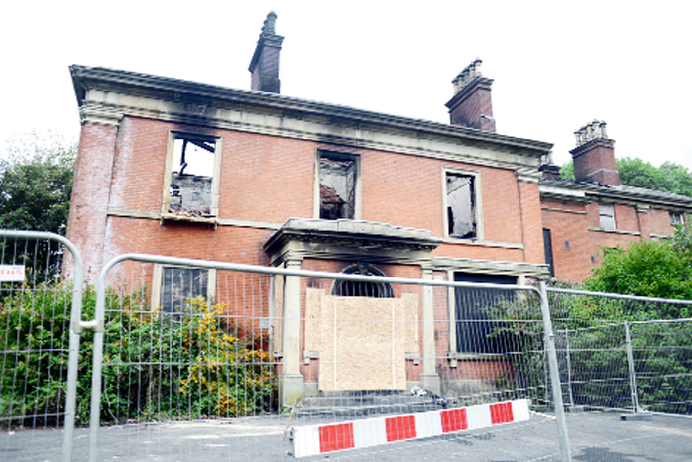 Future uncertain for Blackburn stately home gutted in arson attack