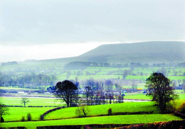 Pendle Hill, just one example of Lancashire's unique landmarks