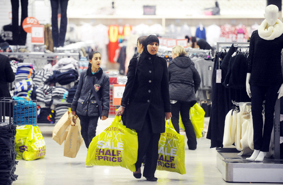 Sales drew shoppers in at The Mall, Blackburn
