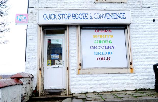 The shop in Accrington