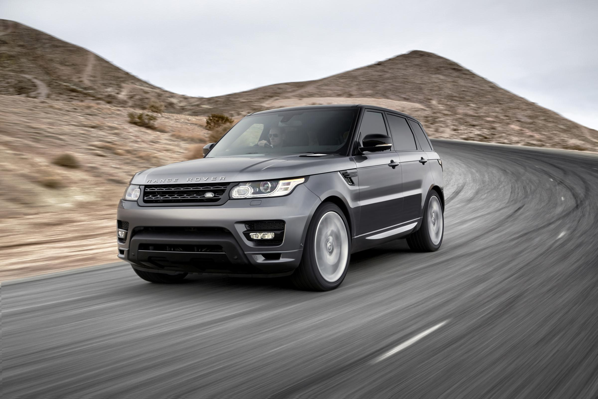 Range Rovers are being targeted