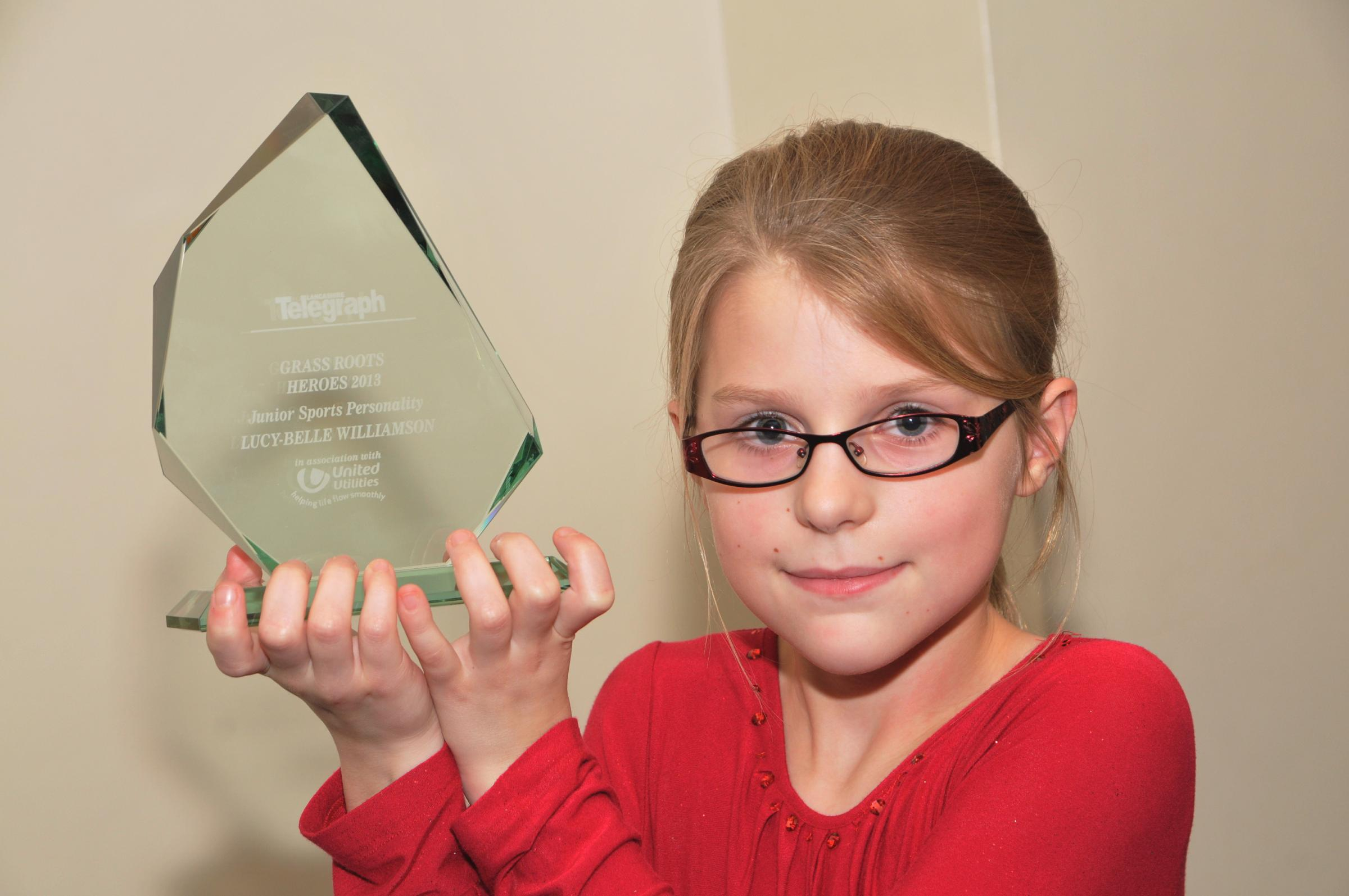 JUNIOR SPORTS PERSONALITY  Lucy-Belle Williamson
