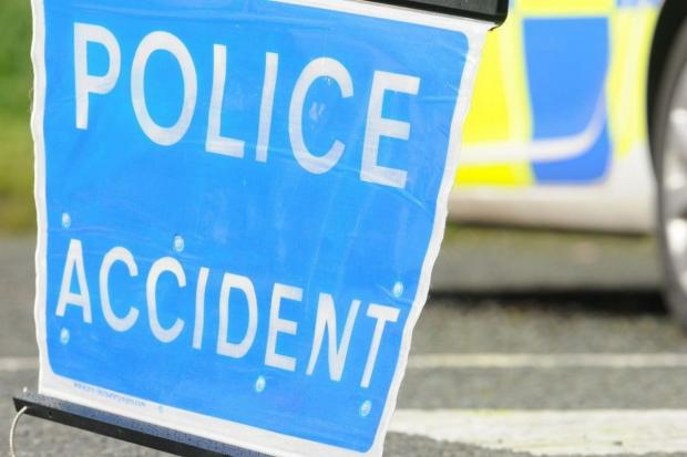 Rolling road closure on M65 after smash