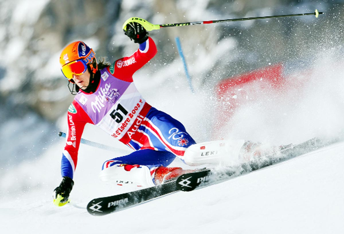 Meet East Lancashire's 2014 Winter Olympic medal contenders: Skier Ryding high for Sochi