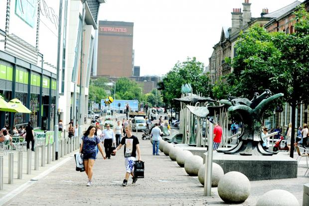 Blackburn town centre