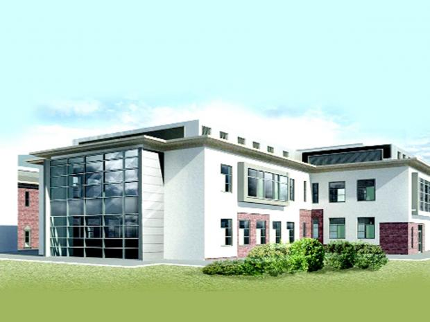 Blackburn Citizen: An artist's impression how the surgical unit will look