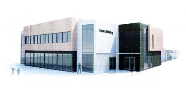 Blackburn Citizen: An artist's impression of the new building