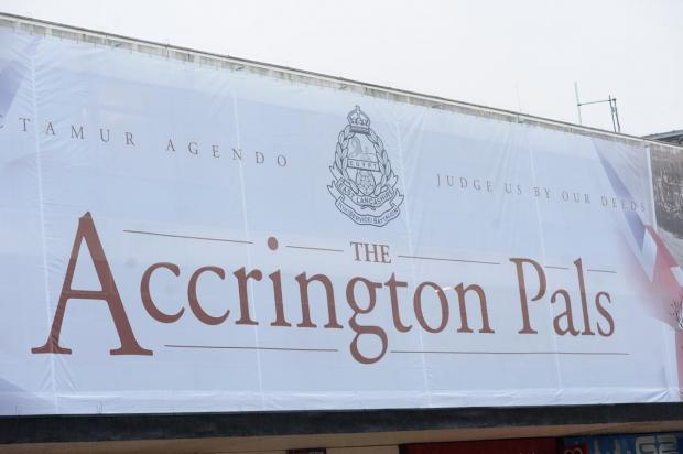 Launch of Accrington Pals tribute welcomed