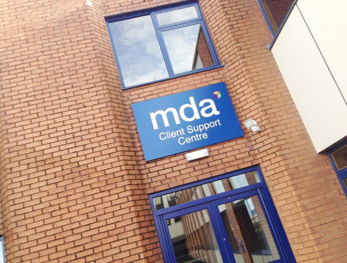 MDA's new offices in the old Walkersteel building on Walker Park, Blackburn