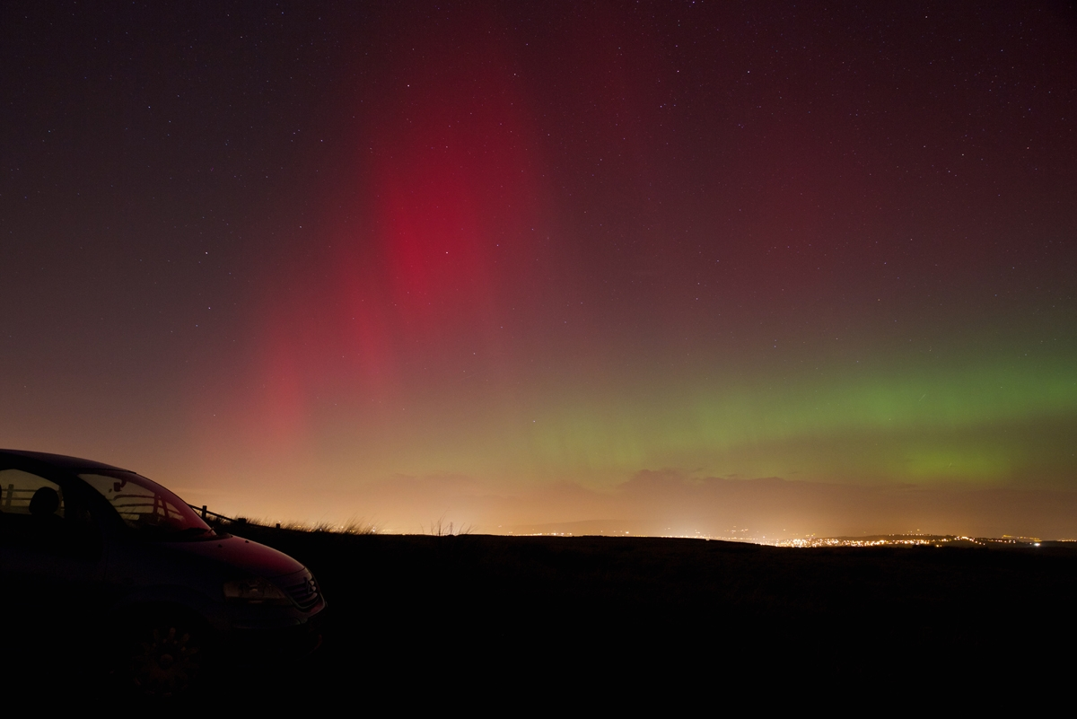 UPDATED: Northern Lights show treat for East Lancashire sky watchers