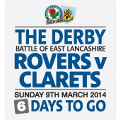 Tickets to visitors for Rovers Burnley derby have sold out