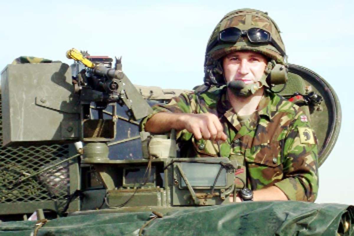 Former East Lancashire soldier holds 'no grudge against the bombers'