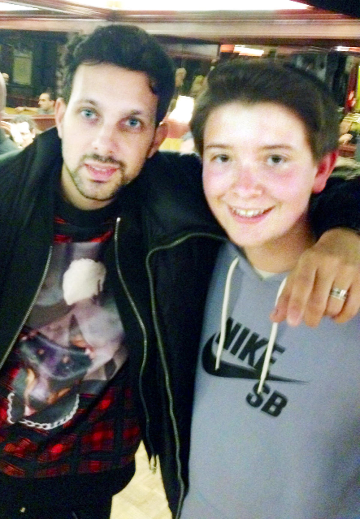 VIDEO: East Lancs magician meets idol 'Dynamo'