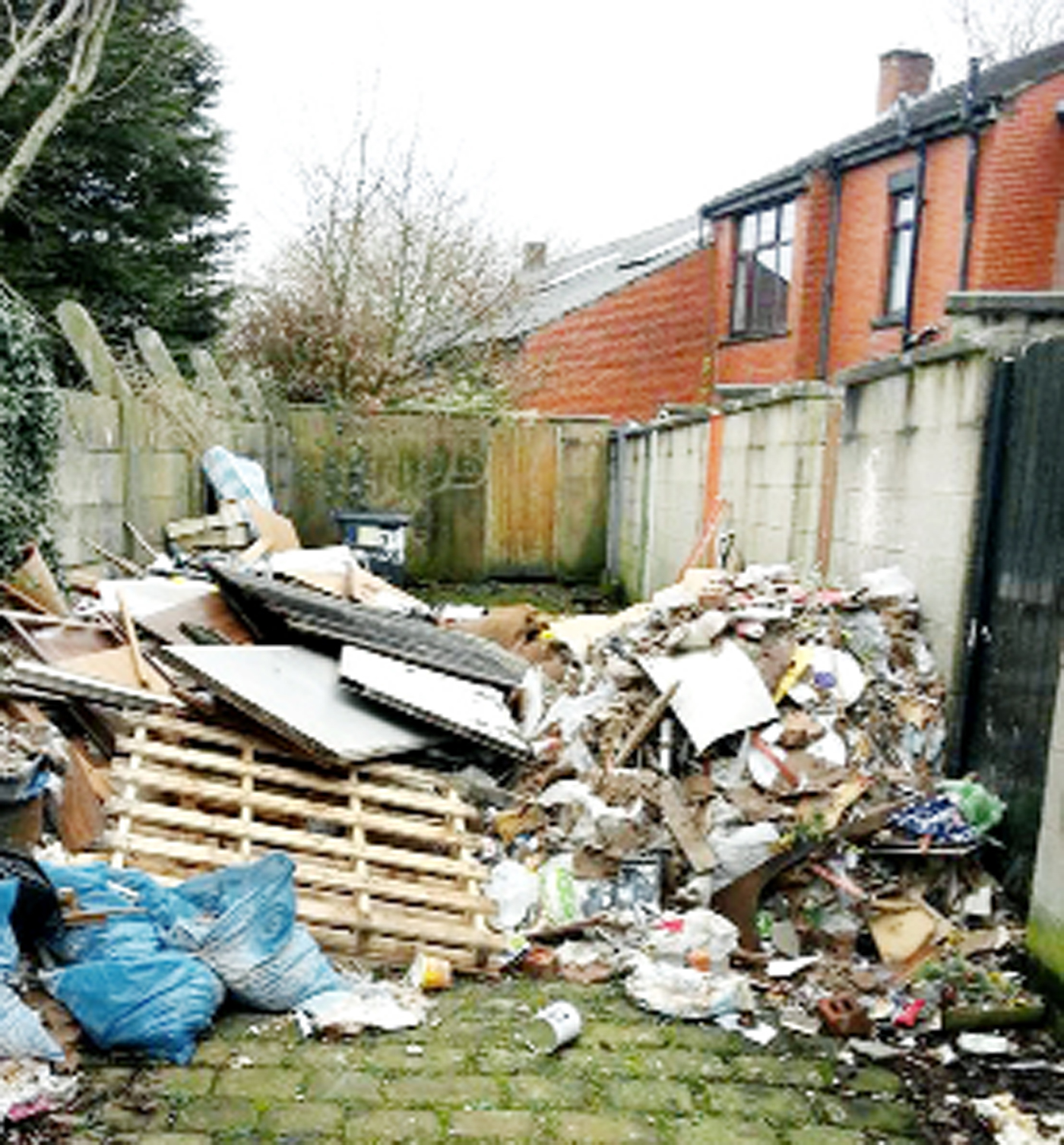 Call to punish dirty Blackburn fly-tippers