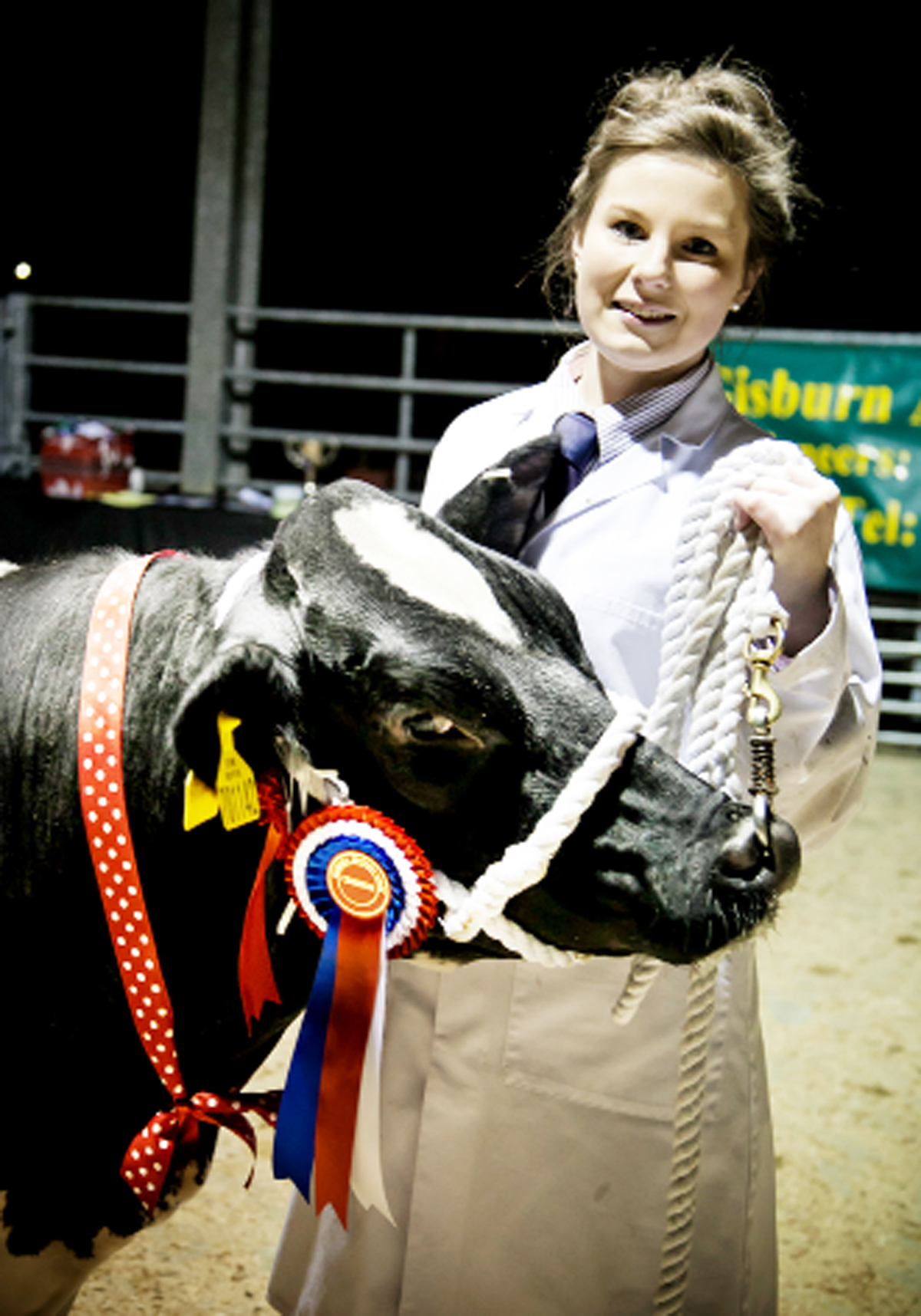 Lancashire young farmer's best heifers earn top title
