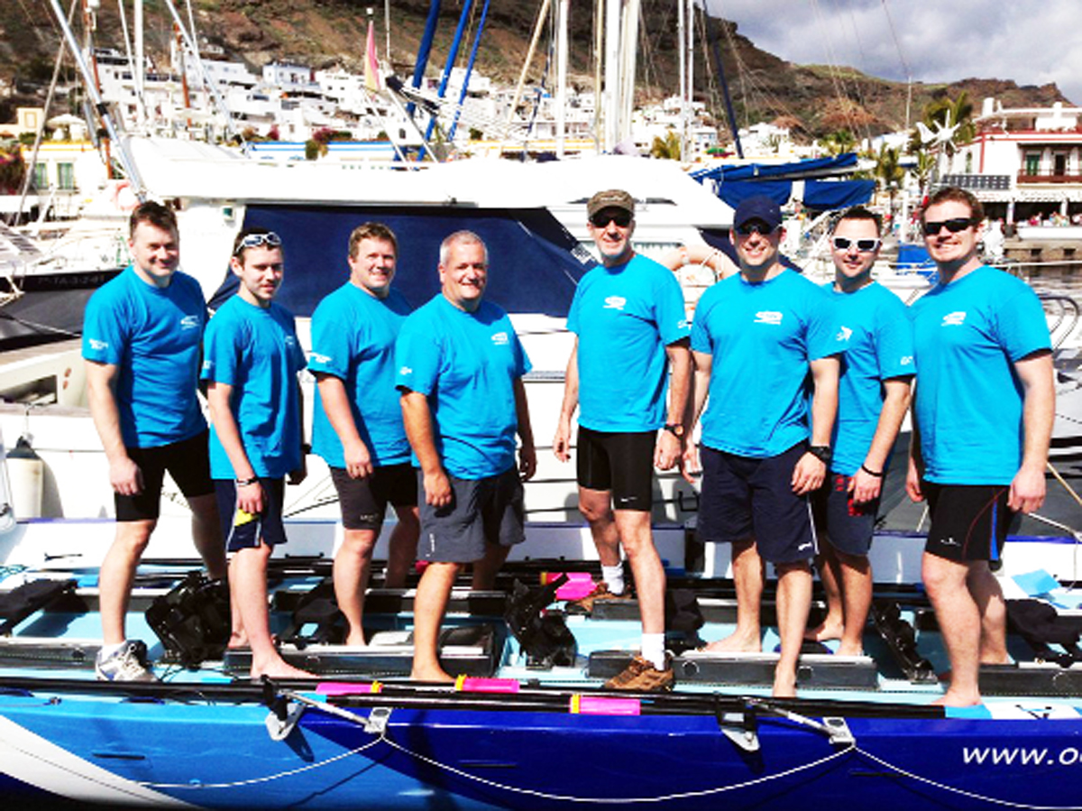 East Lancs marine breaks world record for rowing Atlantic