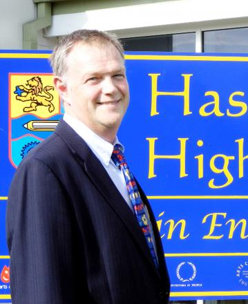 Headteacher Mark Jackson