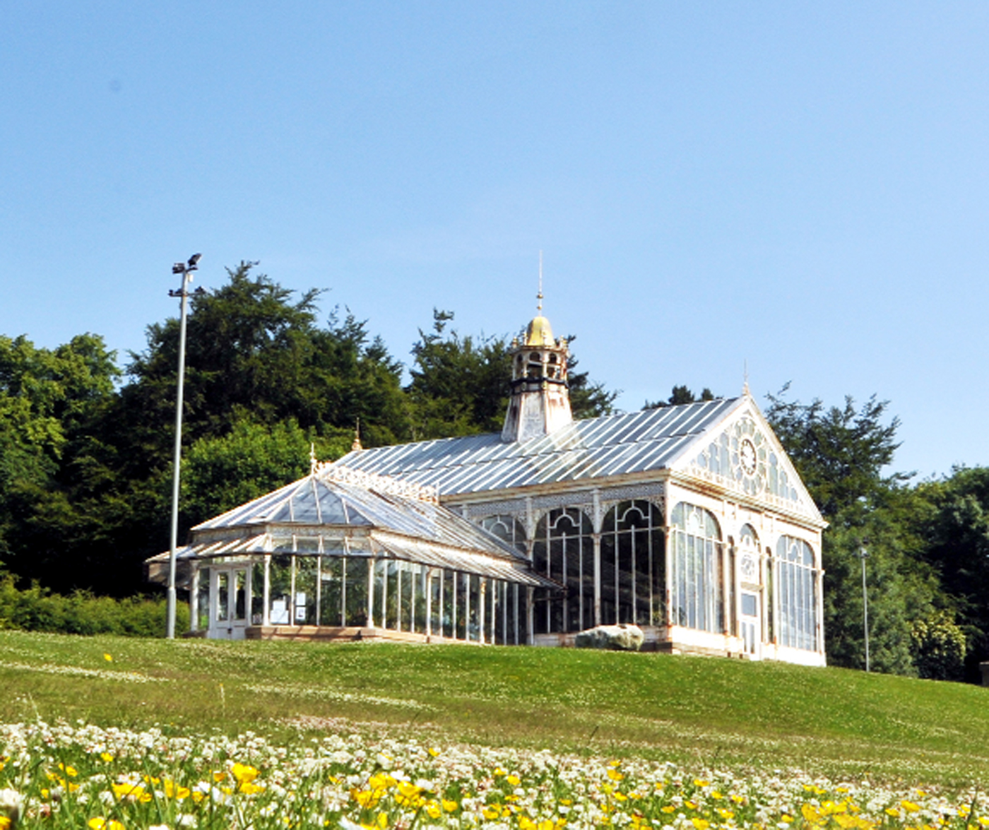 The conservatory at Corporation Park