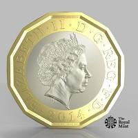 Blackburn Citizen: The new one pound coin announced by the Government will be the most secure coin in circulation in the world (HM Treasury/PA)