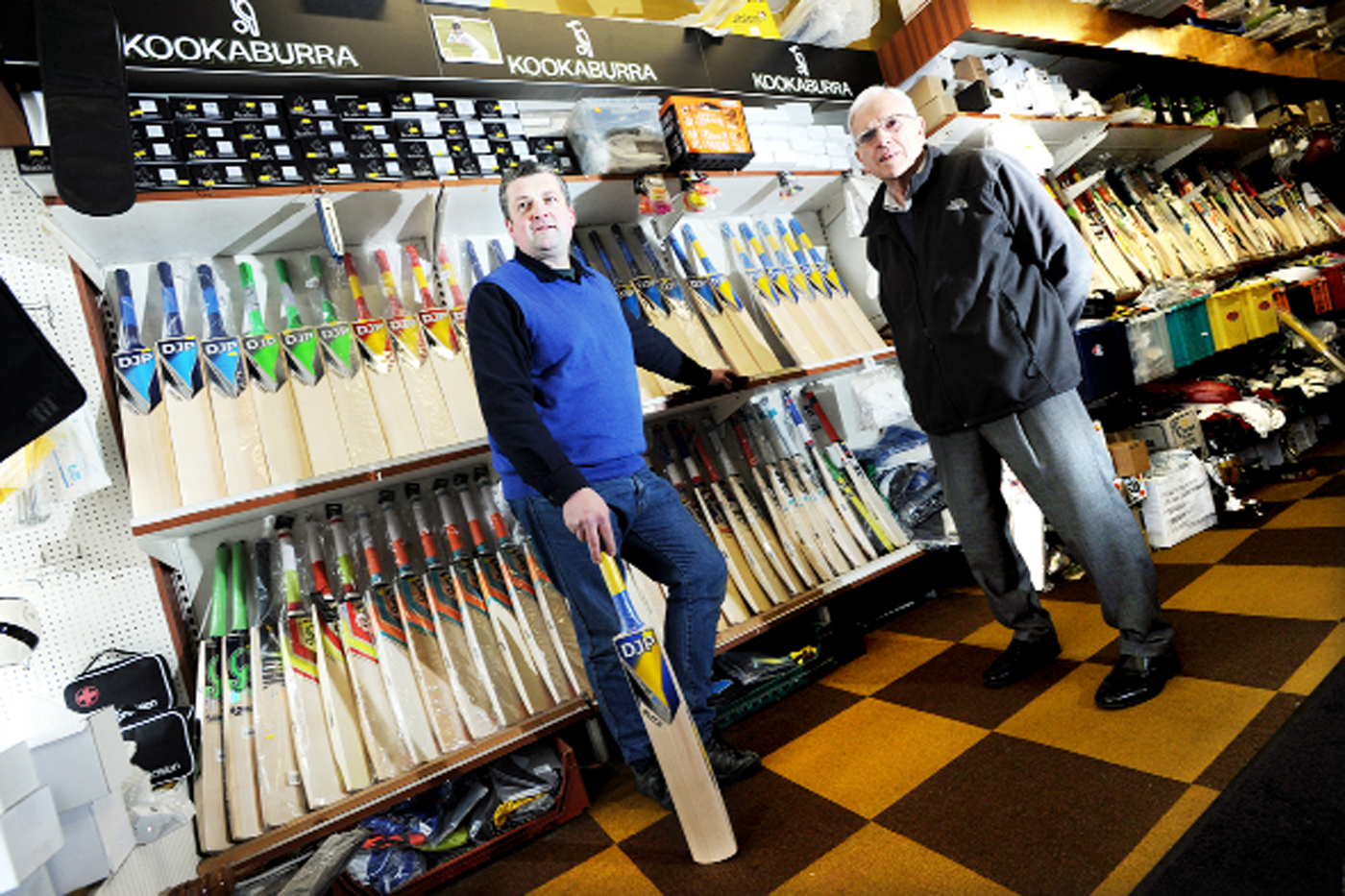 Iconic Blackburn sports shop has enjoyed a record innings