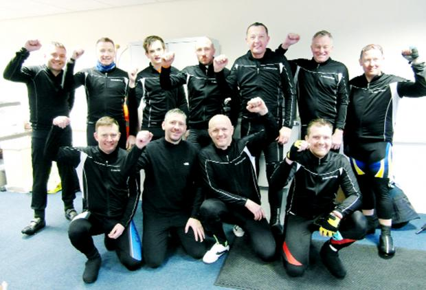 Blackburn cross country bikers raise cash for Sport Relief