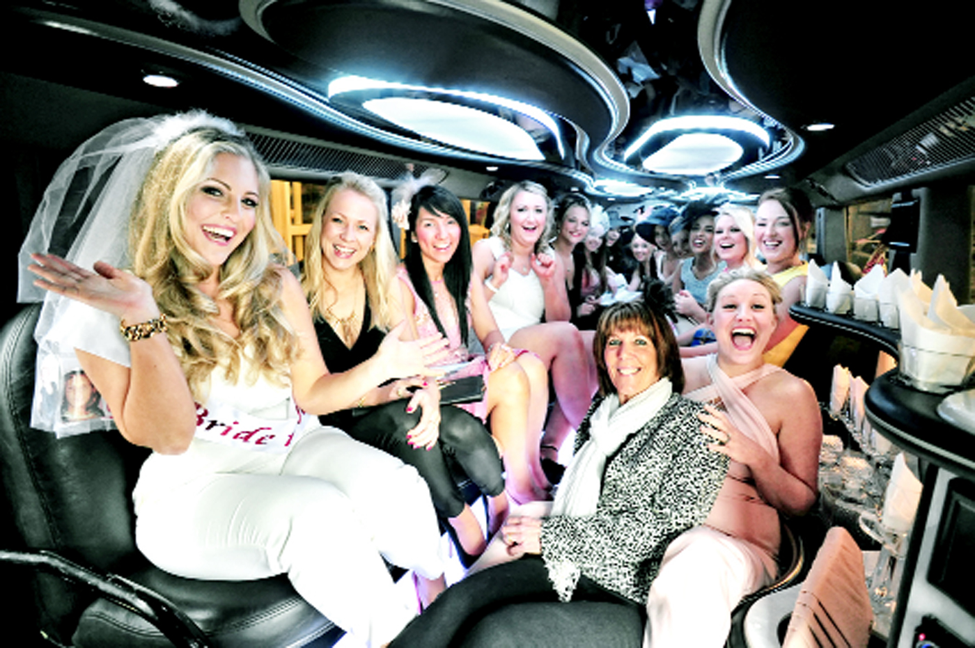Darwen bride-to-be treated to surprise hen party at Aintree