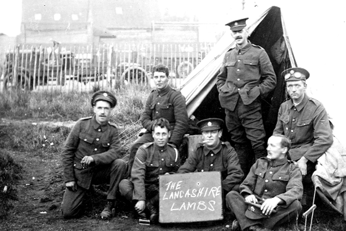 WW1 display shares poignant messages from Lancashire soldiers