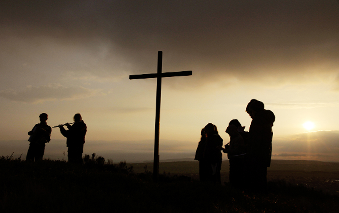 The Scouts mark  Easter over Darwen Picture: MATT DONNELLY